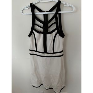 Intimately Free People Black/White Strappy Dress